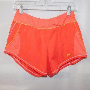 Womens S Asics Coral Running Shorts